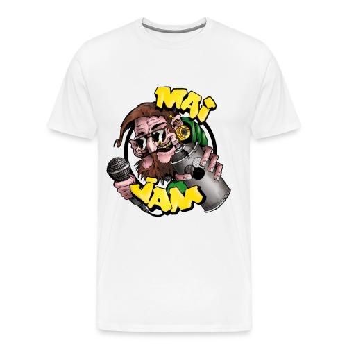 MaiJam Logo bunt größer png - Männer Premium T-Shirt
