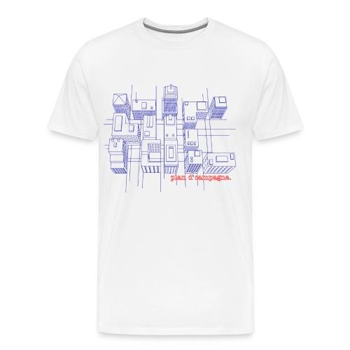 city - Mannen Premium T-shirt