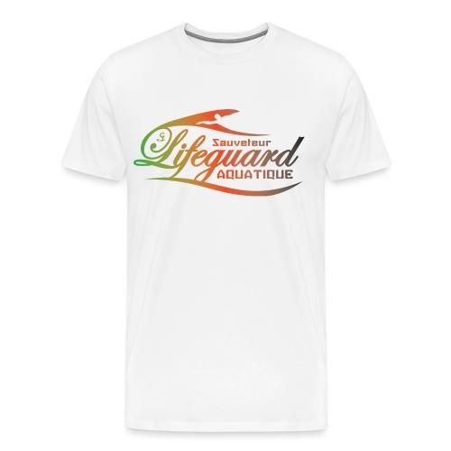 lifeguard multicolor - T-shirt Premium Homme