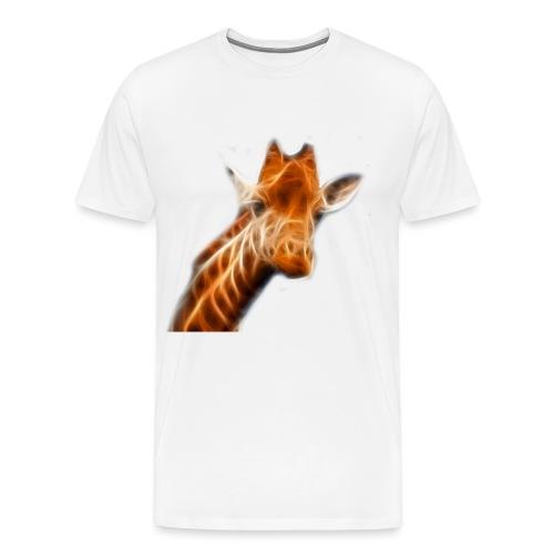 Fractialius Giraffe - Mannen Premium T-shirt