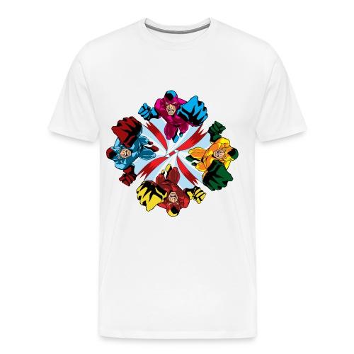 Flying Fist Men's T shirt - Men's Premium T-Shirt