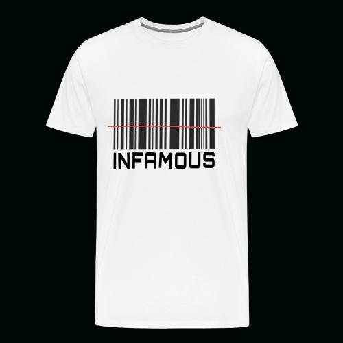 INFAMOUS - Camiseta premium hombre