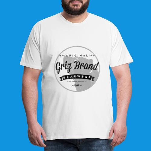 Griz Brand dark Tank - Men's Premium T-Shirt