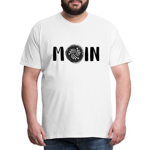 MOIN IOTA | BTC, Kryptowährung | IOTA Shirt - Männer Premium T-Shirt