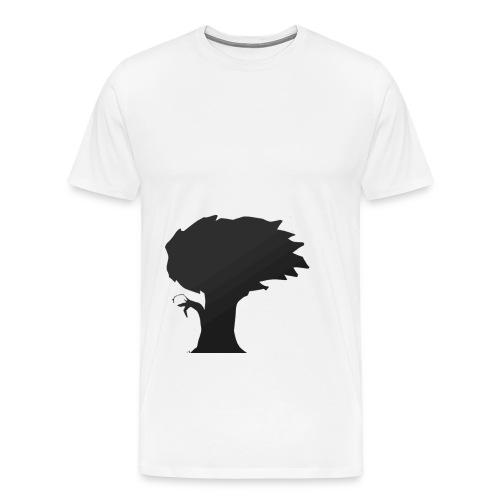 As the wind flows - Mannen Premium T-shirt