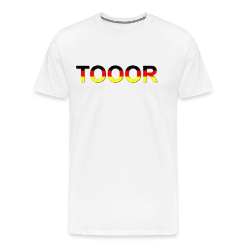 TOOOR-Schatten-transparen - Männer Premium T-Shirt