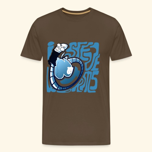 i STEVE WORMS - Men's Premium T-Shirt