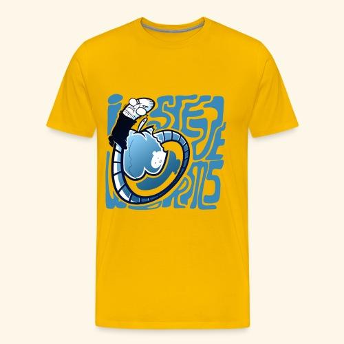i STEVE WORMS - Men's Premium T-Shirt
