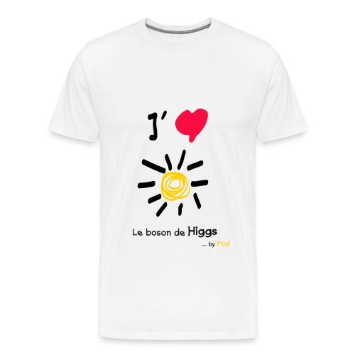 I love le boson de Higgs - T-shirt Premium Homme