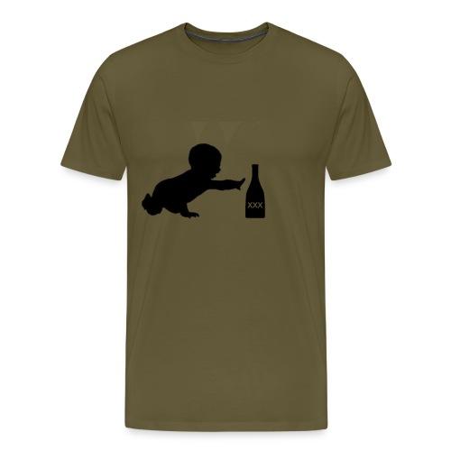 Puro istinto png - Maglietta Premium da uomo