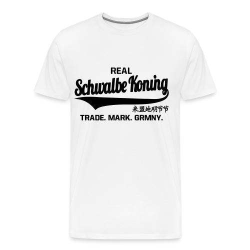 Real Schwalbe Koning - Mannen Premium T-shirt