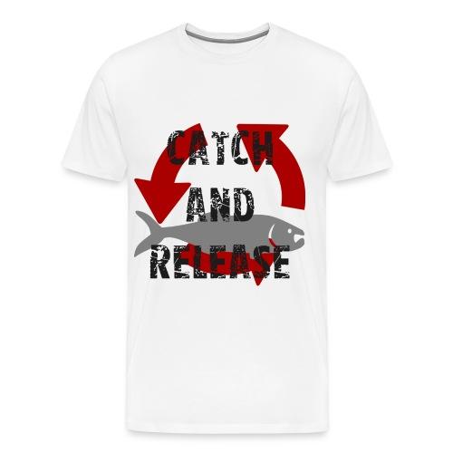 catch and release - Männer Premium T-Shirt