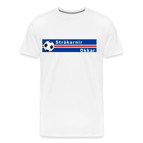 Island strákarnir Okkar - Men's Premium T-Shirt