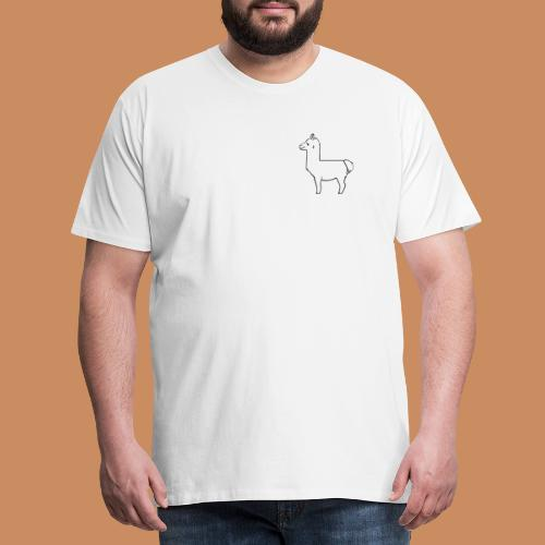 Lama Design - Männer Premium T-Shirt