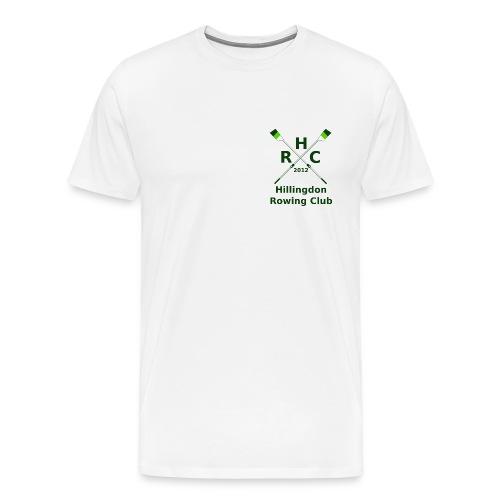 HRC Logo Brand Refresh Bitmap - Men's Premium T-Shirt