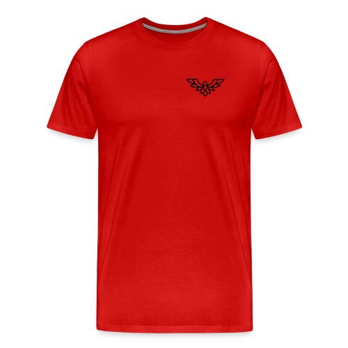 Clean Plain Logo - Men's Premium T-Shirt
