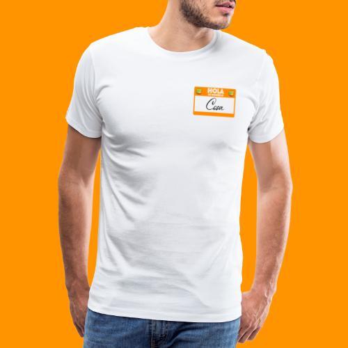 Hola, Mi nombre es Cosa - Camiseta premium hombre