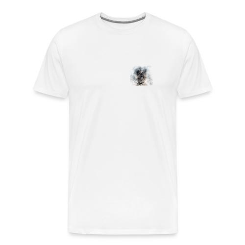 dog hund - Männer Premium T-Shirt