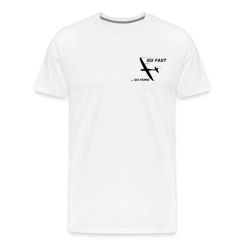 go fast Digitalmotiv - Männer Premium T-Shirt