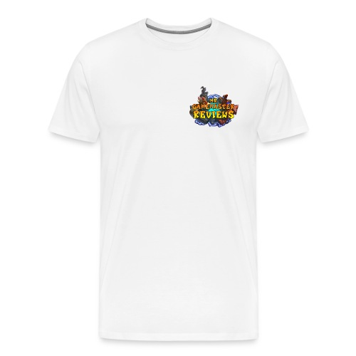 MrGMReviews Logo - Men's Premium T-Shirt