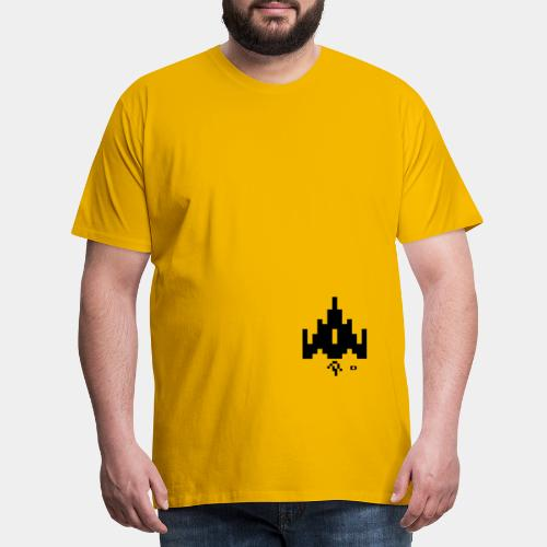 A-028 Raumschiff - Männer Premium T-Shirt