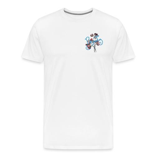 Typographie du mot beauté en anglais - T-shirt Premium Homme