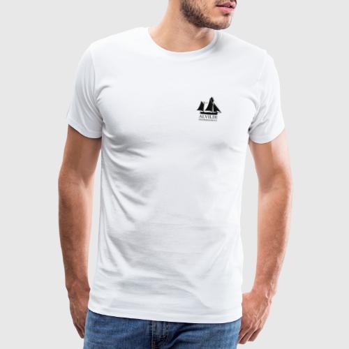 1 - Herre premium T-shirt