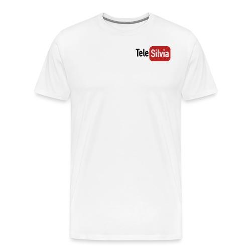 TELESILVIA LOGO - Maglietta Premium da uomo