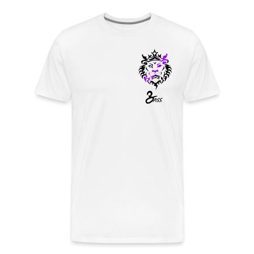 BASS X LION - Men's Premium T-Shirt