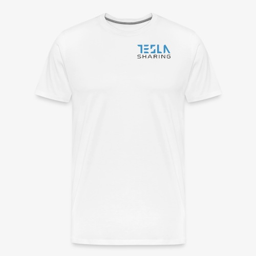 Teslasharing - denn Teslas soll man teilen - Männer Premium T-Shirt