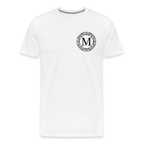 the letter M - Men's Premium T-Shirt