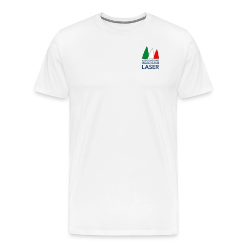 Logo per sfondo bianco - Maglietta Premium da uomo