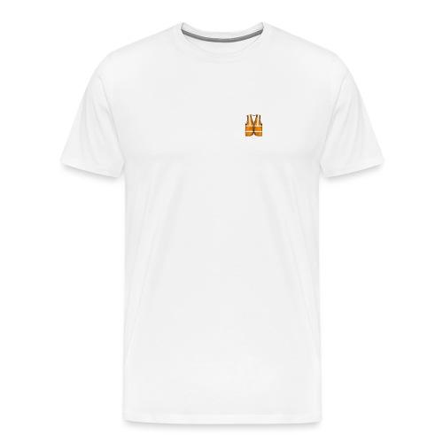 Construction League Vest - Men's Premium T-Shirt