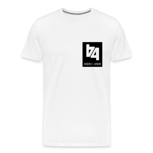 logo 4bij42 - Mannen Premium T-shirt