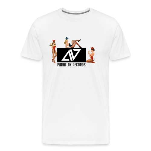 Parallax Records logo classic - Men's Premium T-Shirt