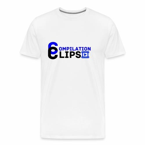 Official CompilationClips - Men's Premium T-Shirt