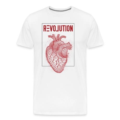 Love Revolution - Männer Premium T-Shirt