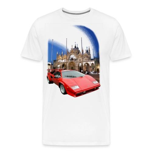 countach - Männer Premium T-Shirt