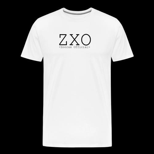 ZXO black - Men's Premium T-Shirt