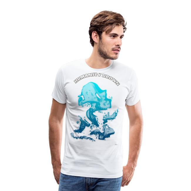 Humanity Drown (us) -by- T-shirt chic et choc