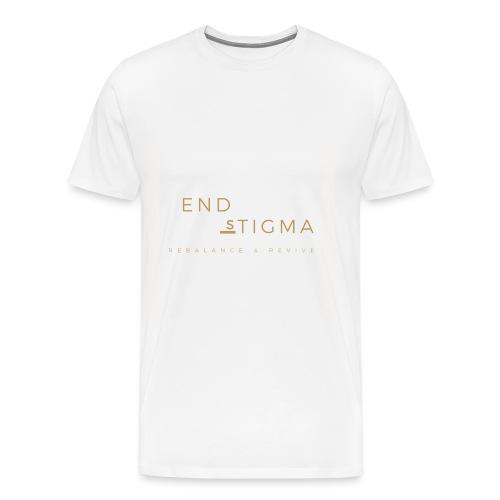 '#End the stigma' of mental health - Men's Premium T-Shirt