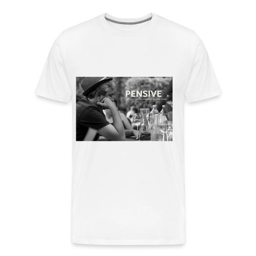 Nachdenklich - Pensive - Männer Premium T-Shirt