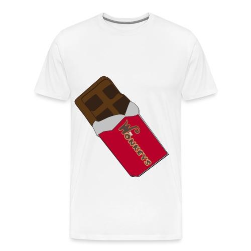 The Wonkeys Chocolate Edition - Maglietta Premium da uomo