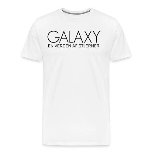 En verden af stjerner - Herre premium T-shirt