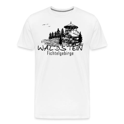 Waldstein im Fichtelgebirge - Männer Premium T-Shirt
