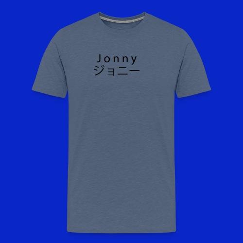 J o n n y (black) - Men's Premium T-Shirt
