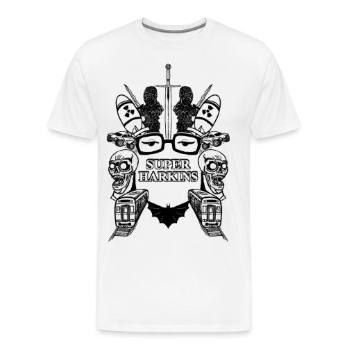 T design - 5-5-2-2 - Men's Premium T-Shirt