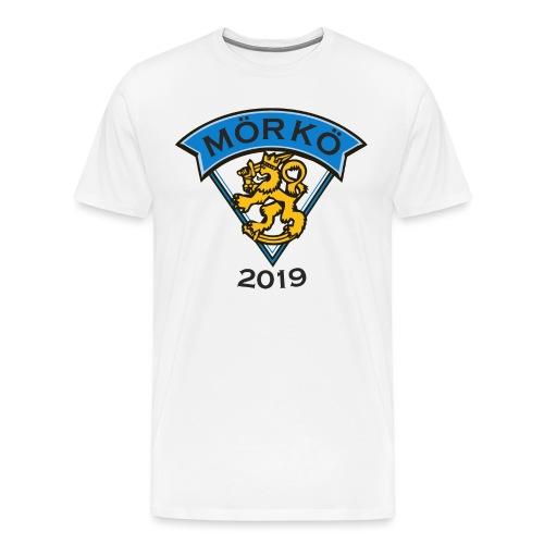 MÖRKÖ 2019 - Miesten premium t-paita