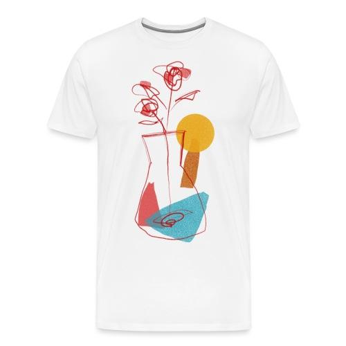 Abstract sun - Maglietta Premium da uomo