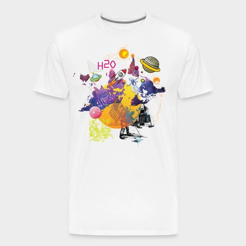 SPACE H2O - Men's Premium T-Shirt